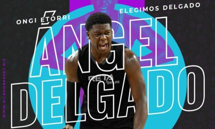 The Dominican Ángel Delgado reinforces the inside game of R …