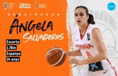 Ángela Salvadores passes the medical examination with Valen …