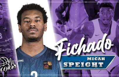 Micah Speight reinforces the direction of Palencia Baloncesto