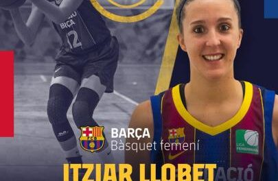 Itziar Llobet will continue to be part of the outside game of the …