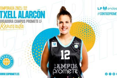 Txell Alarcón continues one more campaign at Campus Promete