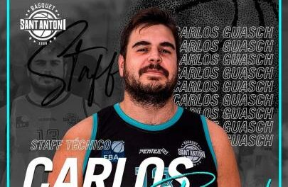Carlos Guasch becomes part of the technical staff of the