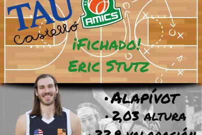 Eric Stutz signs for TAU Castelló