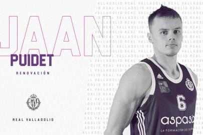 Jaan Puidet will continue one more season at UEMC Real Val …