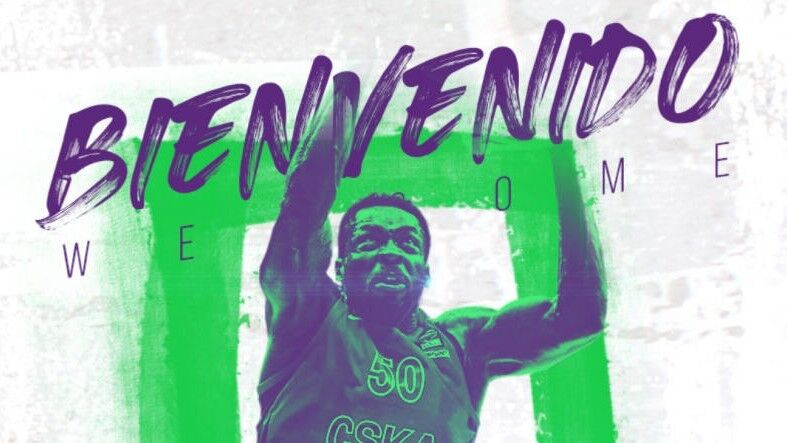 Michael Eric completes Unicaja's inside game