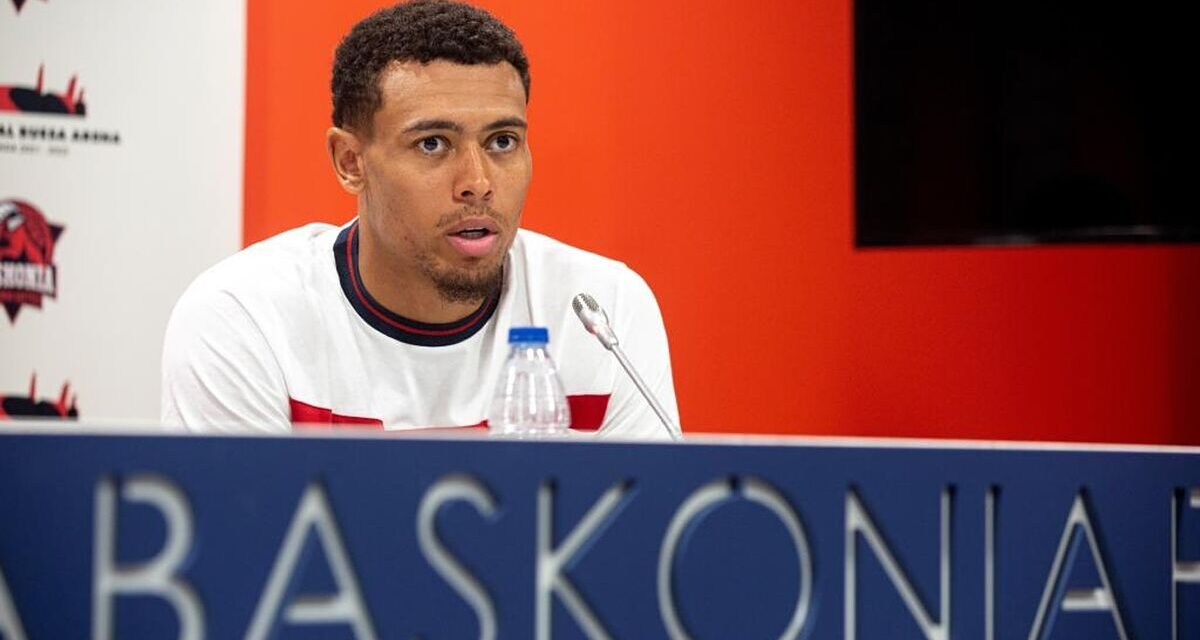 """The Baskonia signing points high: """"I'm going to show what …"""