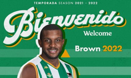 Coosur Betis closes the signing of power forward Vitto Brown