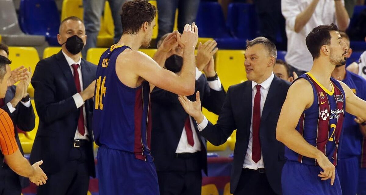 """Jasikevicius: """"When Pau gets tired of golf, he'll still call us"""""""