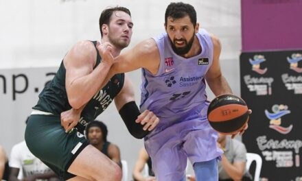 Barcelona buries a lazy Limoges with a tr …
