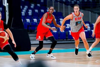 The Women's National Team resumes training in Madrid an …
