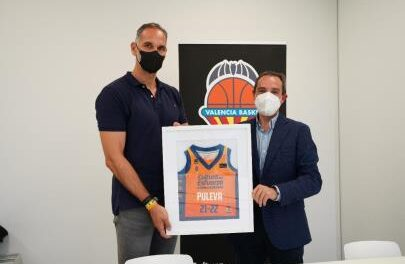 Valencia Basket and PULEVA renew their commitment, which will come …