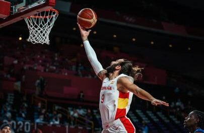 Ricky Rubio achieves the Spanish Olympic record in scoring: 38 points