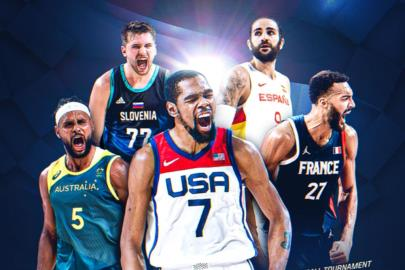 Ricky Rubio, in the Ideal Five of the Olympic Games