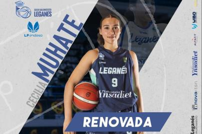 Cecilia Muhate will continue at the Leganés Basketball Club