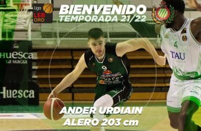 Ander Urdiain will continue one more season at Levitec Huesca