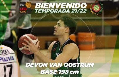 Devon Van Oostrum will once again be a Levitec Huesca player