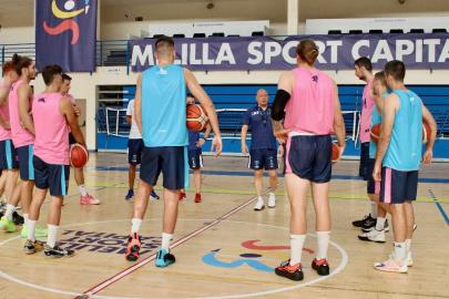 The preseason of the new Melilla Sport project begins …