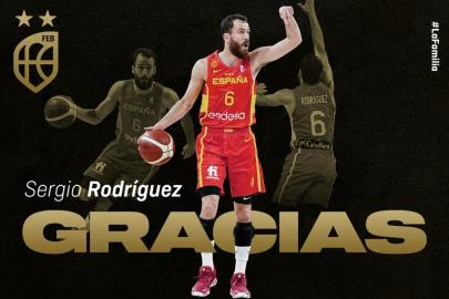 Sergio Rodríguez announces his retirement from the National Team
