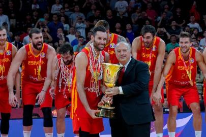 Rudy Fernández and the World Champions Cup, protagonists of the draw