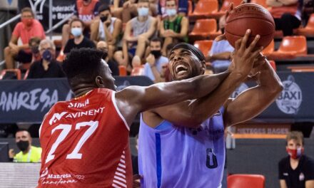 BAXI Manresa is charged to Barcelona in the final of the Llig …
