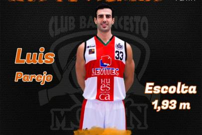 Luis Parejo, new signing of the Morón Basketball Club