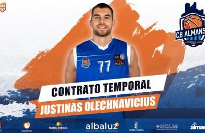 Justinas Olechnavicius returns to Almansa with a contract