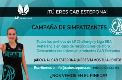 CAB Estepona launches its first supporters campaign