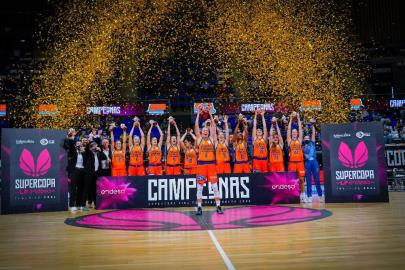 Valencia Basket, champion of the LF Endesa Super Cup