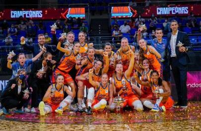 Valencia Basket conquers its first national title