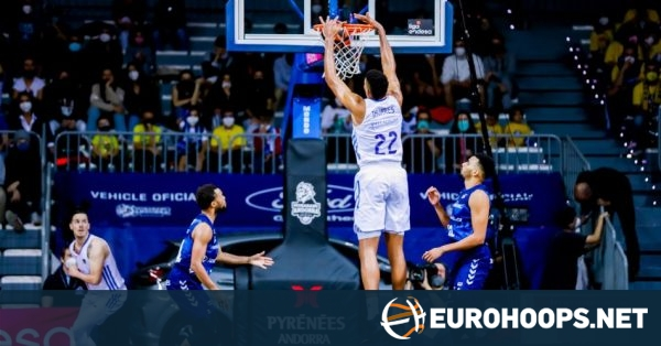 Real Madrid destroys Andorra for second straight win