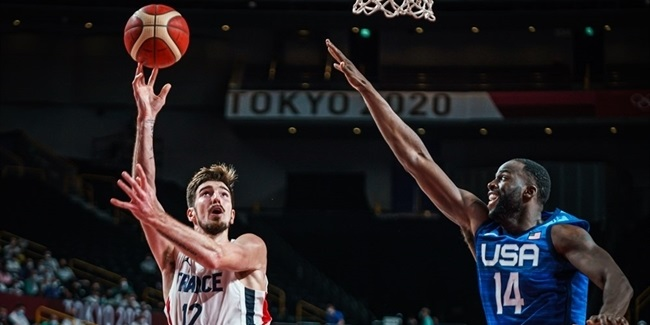 Olympics Roundup: De Colo helps France down USA