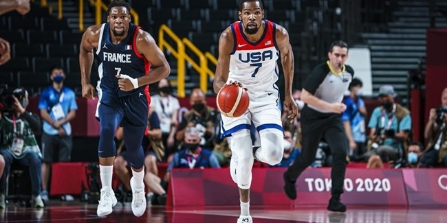 Olympics Roundup: USA wins gold over France, Australia takes…