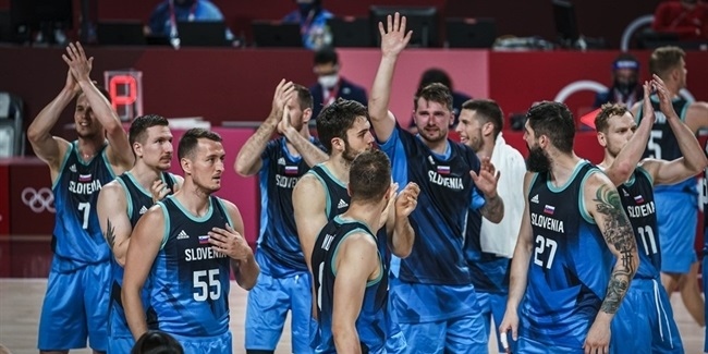 Olympics Roundup: Slovenia, Spain get first wins