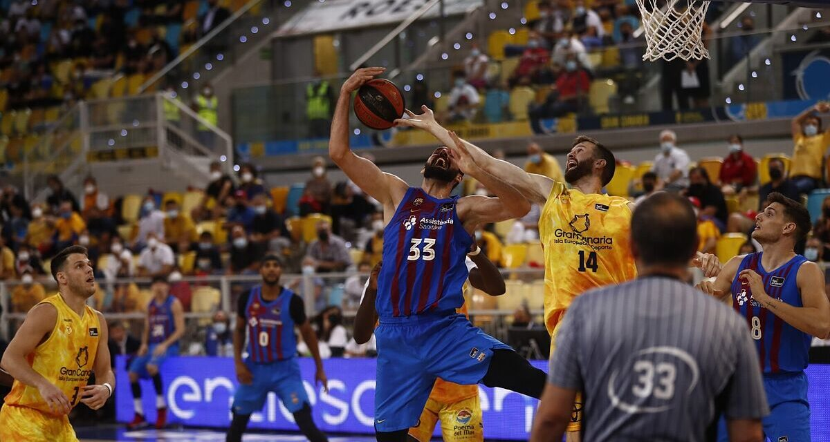 Mirotic gives a class against Gran Canaria and Barça adds his se …