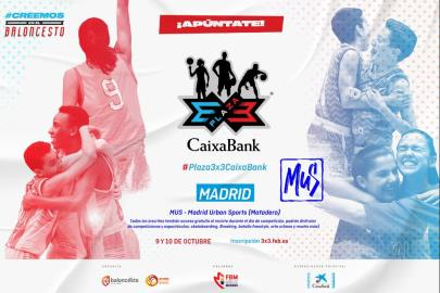 The registration period for the Plaza 3×3 CaixaBank is open …