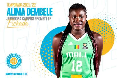 Alima Dembele, power and versatility for the Campus Promet …