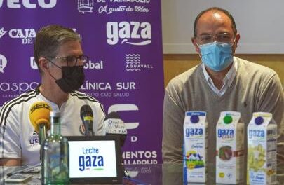 Real Valladolid and Leche Gaza: a commitment that goes further