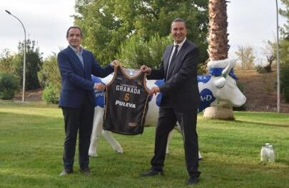 Puleva continues to be linked to the CB Granada Foundation