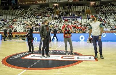 Spar Girona presents the new official club anthem