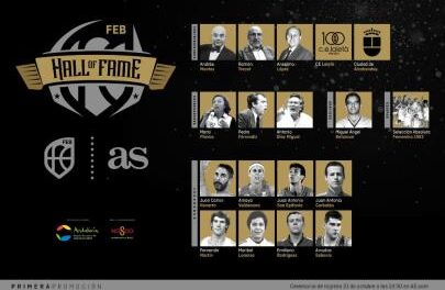 The Spanish Basketball Hall of Fame was born this Thursday in S …